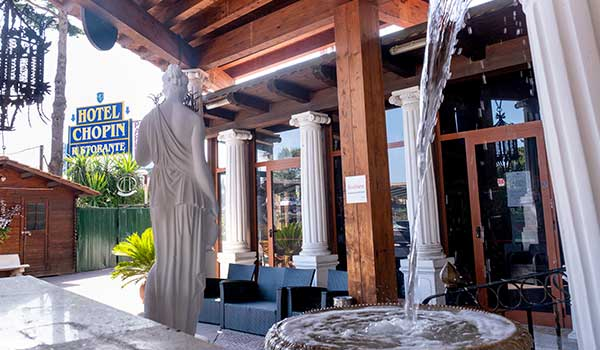 Hotel Chopin Roma Struttura Interna